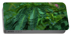 Lush Foliage Portable Battery Charger by Stefanie Silva