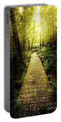 Lush Green Rainforest Walk Portable Battery Charger