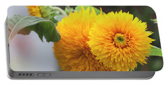 Lush Sunflowers Portable Battery Charger