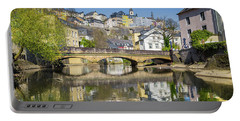 Luxembourg City Portable Battery Charger by JR Photography