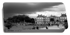 Luxembourg Gardens 2bw Portable Battery Charger