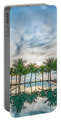 Portable Battery Charger featuring the photograph Luxury Pool In Paradise by Antony McAulay