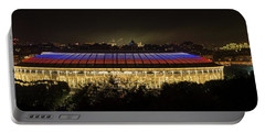 Luzhniki Stadium At Summer Night Against The Background Of The Ministry Of Foreign Affairs, The Cath Portable Battery Charger
