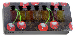Lv Cherry And Lv Perfume Portable Battery Charger