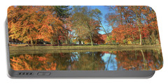 Portable Battery Charger featuring the photograph Lykens Glen Reflections by Lori Deiter