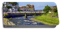 Lynmouth Coastal Town, Devon, Uk Portable Battery Charger