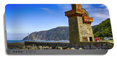 Lynmouth Harbor Entrance, Uk Portable Battery Charger