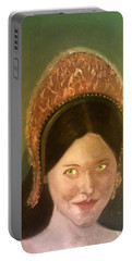 Lynne Frederick As Queen Katherine Howard Portable Battery Charger