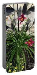 M Garden Flowers No. Gf13 Portable Battery Charger