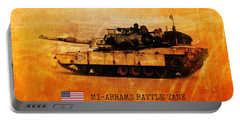 M1 Abrams Battle Tank Portable Battery Charger