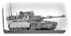 M1a1 B Company Commander Tank Portable Battery Charger