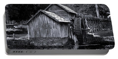 Mabry Mill Bw Light Snow Portable Battery Charger