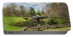Mabry Mill In The Spring Portable Battery Charger