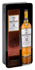 Macallan Single Malt Whisky Portable Battery Charger by Mihai Andritoiu