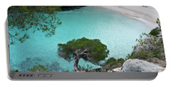 Macarelleta Turquoise Jewell By Pedro Cardona Portable Battery Charger