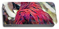 Macaw Portable Battery Charger by David Mckinney