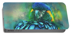 Macaw Magic Portable Battery Charger by Brian Tarr
