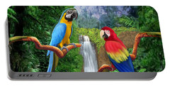 Macaw Tropical Parrots Portable Battery Charger