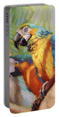 Macaws In The Sunshine Portable Battery Charger