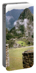 Machu Picchu In The Morning Light Portable Battery Charger