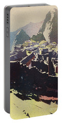 Machu Picchu Morning Portable Battery Charger