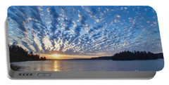 Mackerel Sky Portable Battery Charger