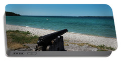 Mackinac Island Canon Portable Battery Charger by Scott Cunningham