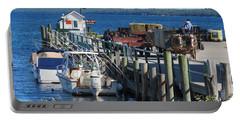 Mackinac Island Coal Dock Portable Battery Charger