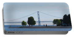 Mackinac Island Panorama With The Mighty Mac Portable Battery Charger