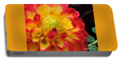 Macro Dahlia Portable Battery Charger