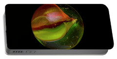 Macro Marble 2 Portable Battery Charger by David Stasiak