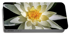 Macro Water Lily Portable Battery Charger