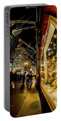 Macys Xmas Display In Chicago Portable Battery Charger
