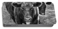 Mad Cow  Portable Battery Charger