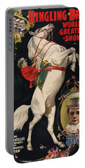 Madam Ada Castello Poster 1899 Portable Battery Charger