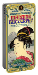 Madame Butterfly Portable Battery Charger