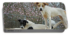 Maddy And Sammy Springtime Portable Battery Charger