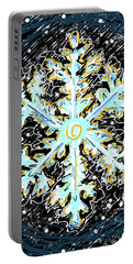 Madeline Snowflake Portable Battery Charger