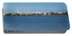 Madison Skyline From Picnic Point Portable Battery Charger