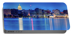 Madison Skyline Reflection Portable Battery Charger