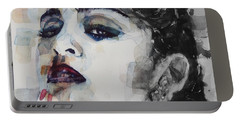Portable Battery Charger featuring the mixed media Madonna  Like A Prayer by Paul Lovering