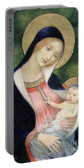 Madonna Of The Fir Tree Portable Battery Charger
