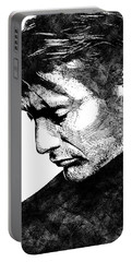 Mads Mikkelsen Portable Battery Charger by Mihaela Pater