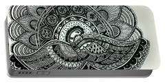 The Magnificent Peacock Portable Battery Charger