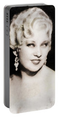 Mae West, Hollywood Legend By John Springfield Portable Battery Charger