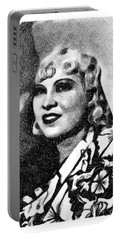 Mae West, Vintage Actress By Js Portable Battery Charger