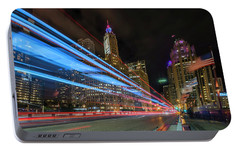 Portable Battery Charger featuring the photograph Mag Mile Warp Speed by Sean Foster
