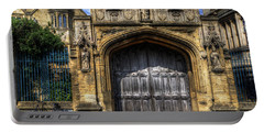 Magdalen College Door - Oxford Portable Battery Charger
