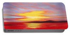 Magic At Sunset Portable Battery Charger