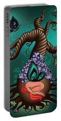 Magic Butterfly Tree Portable Battery Charger by Serena King